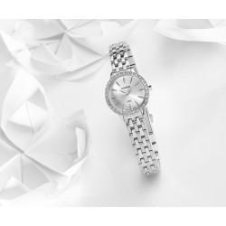 1c0f2a9970144 Montre femme Classique acier cristaux Swarovski