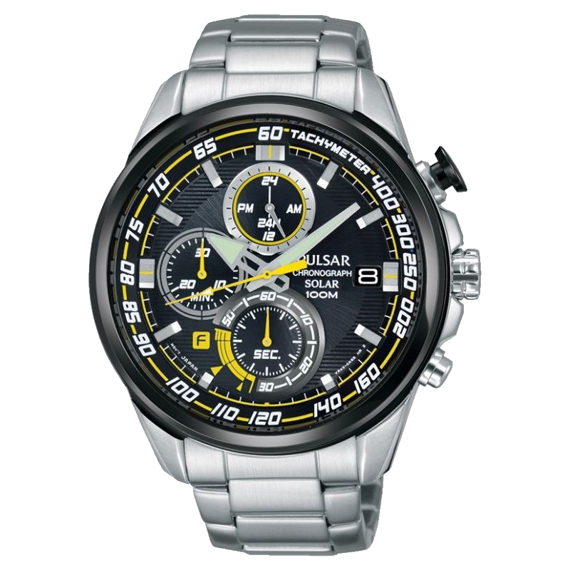 Montre homme Accelerator chrono solaire