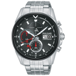 Pulsar Accelerator montre homme chrono acier PZ6027X1