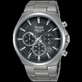 Pulsar montre homme chrono sport titanium PZ5097X1