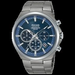 Pulsar montre homme sport chrono solaire titanium PZ5095X1