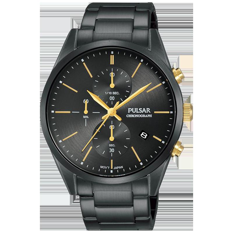 Montre homme Sport chrono acier noir PM3135X1