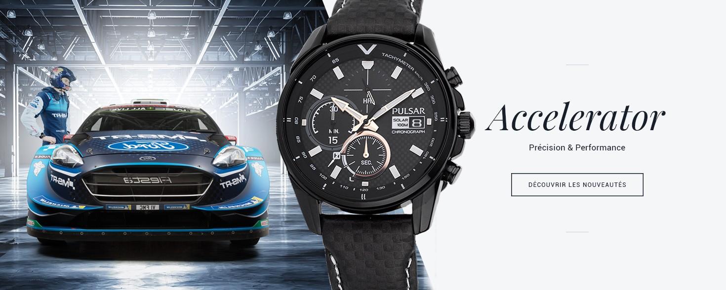 Toutes les montres homme Pulsar Accelerator
