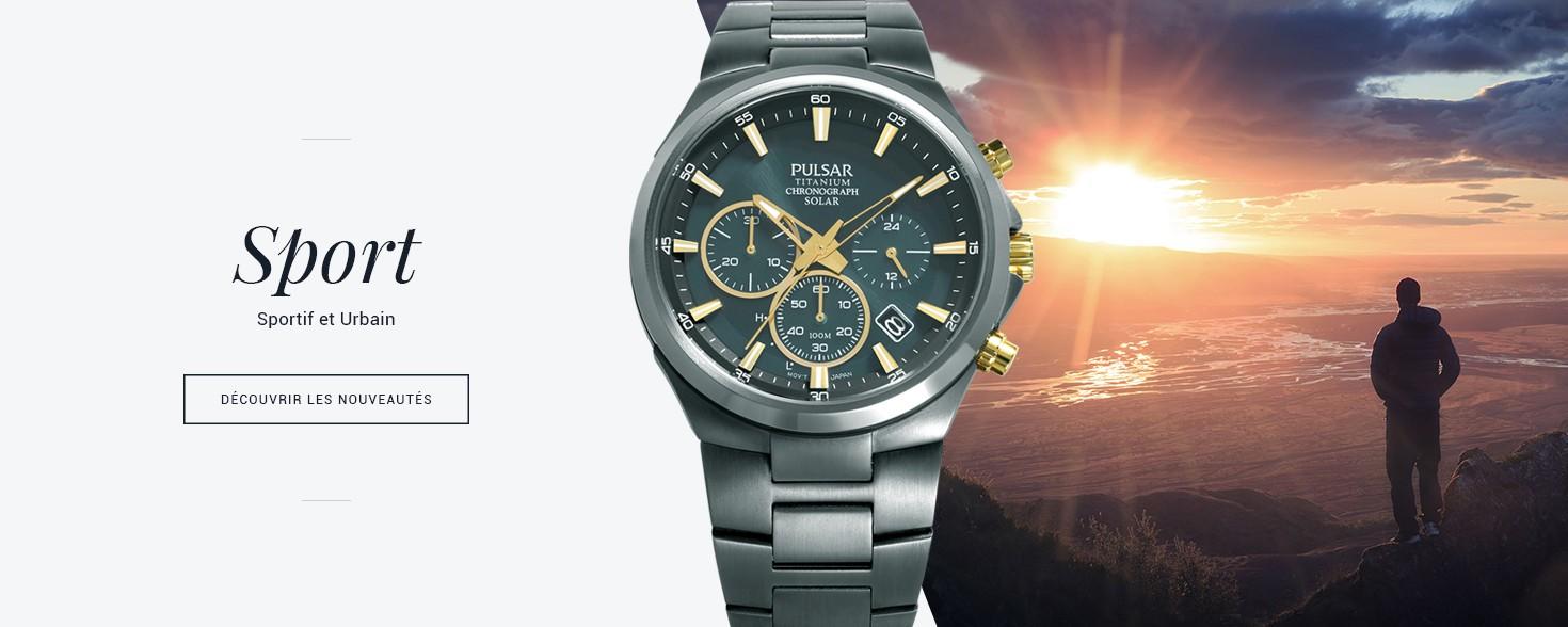 Toutes les montres Pulsar Sport